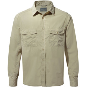 Craghoppers Kiwi Long Sleeved Shirt Men Oatmeal